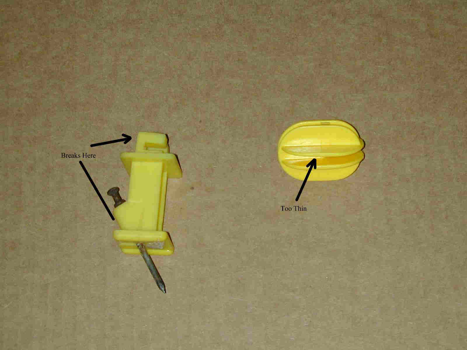 Beverage antenna insulators