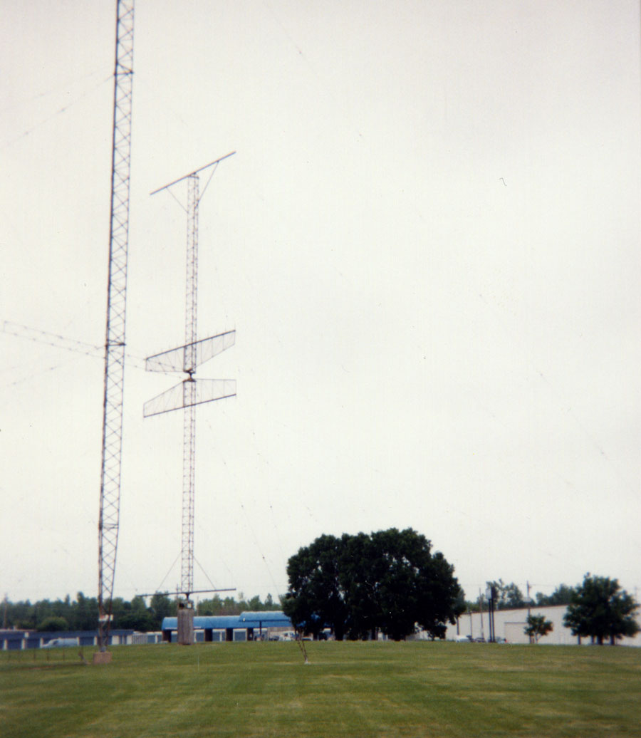 Various directonal arrays at Collins Radio
