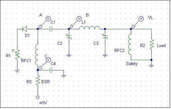 vacuum tube tank circuit model
