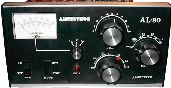 AL80 amplifier Ameritron NOT AL80A