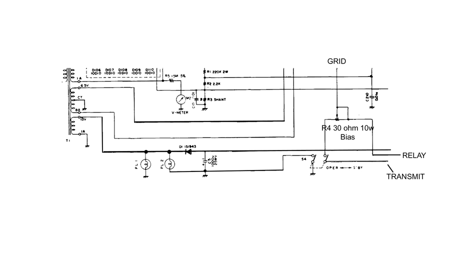 FL2100 amplifier bias system