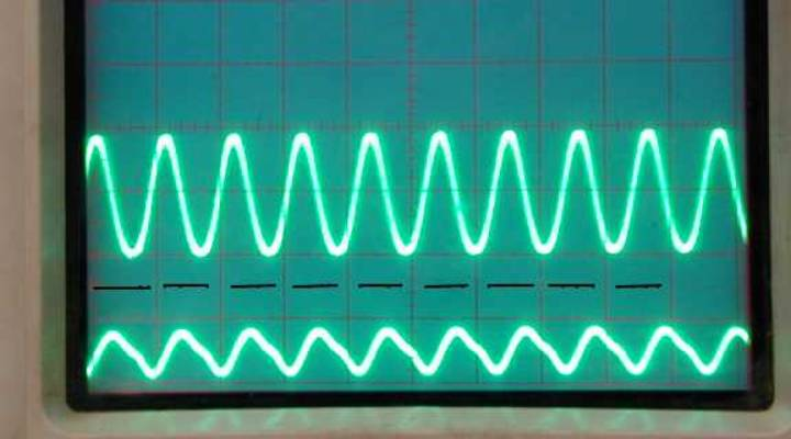 amplifier waveform patterns normal operation