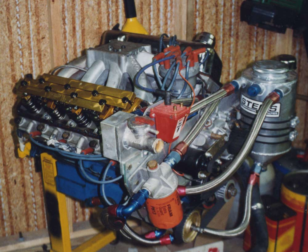 SVO Ford C3 heads Roush Intake