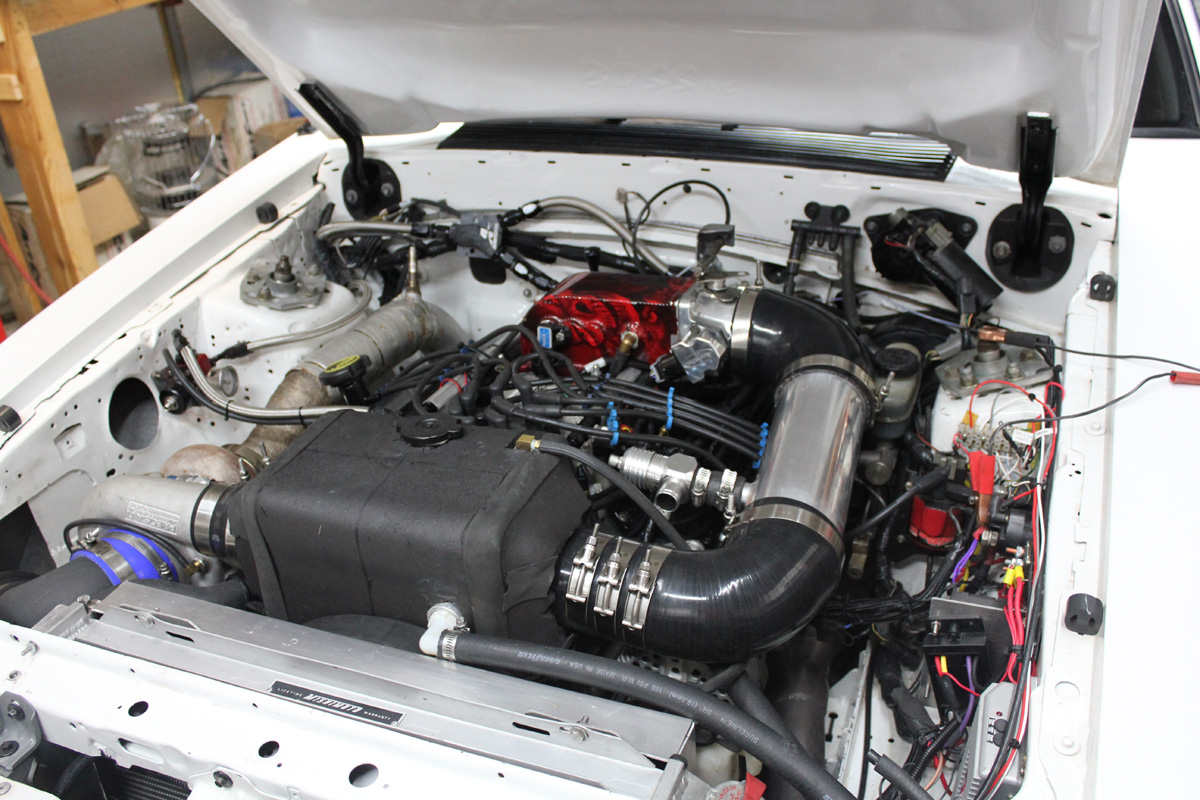 Engine 1989 Mustang turbo