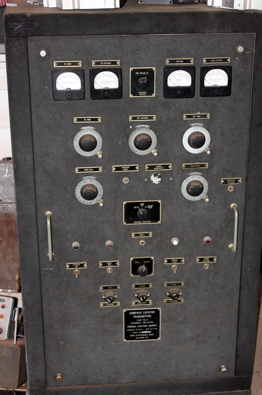 tube type NDB transmitter