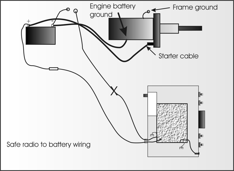 mobile radio wiring and grounding mitsubishi electric alternator wiring diagram