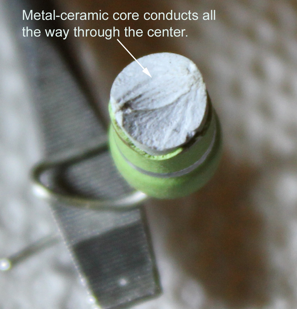 metla ceramic composition resistor core