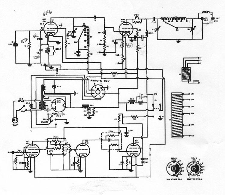 heising modulation in wrl world radio labratories constant current globe scout transmitter
