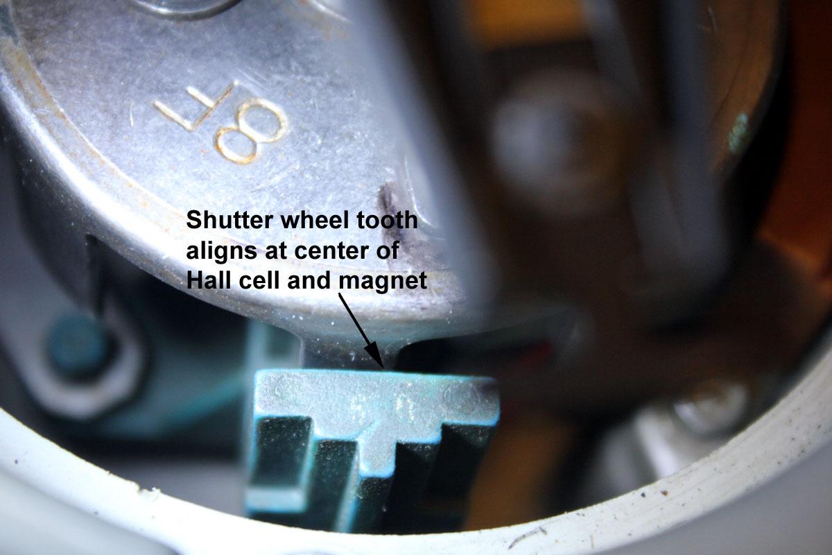 Stabbing distributor for initial timing