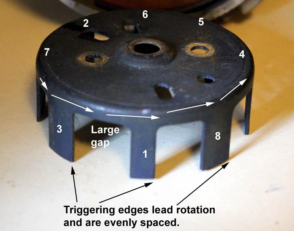 shutter wheel ford distributor