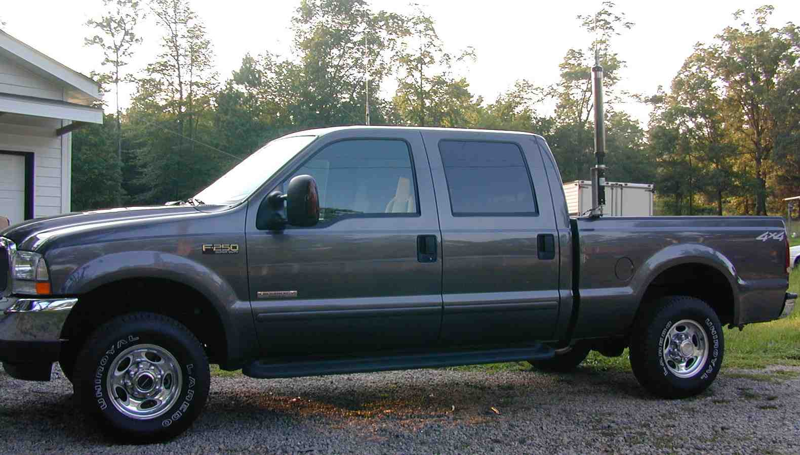 Hf rf noise mobile powerstroke diesel ford