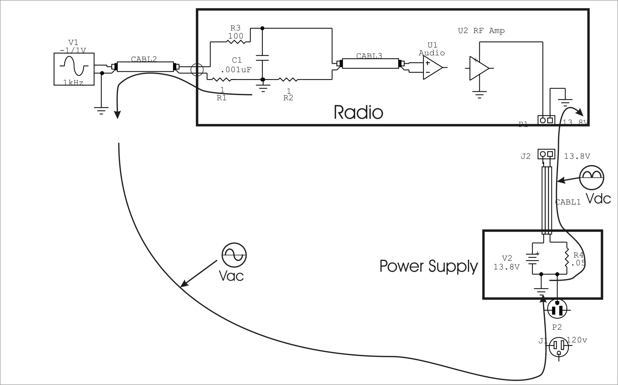 cables and wiring power supply ground loop