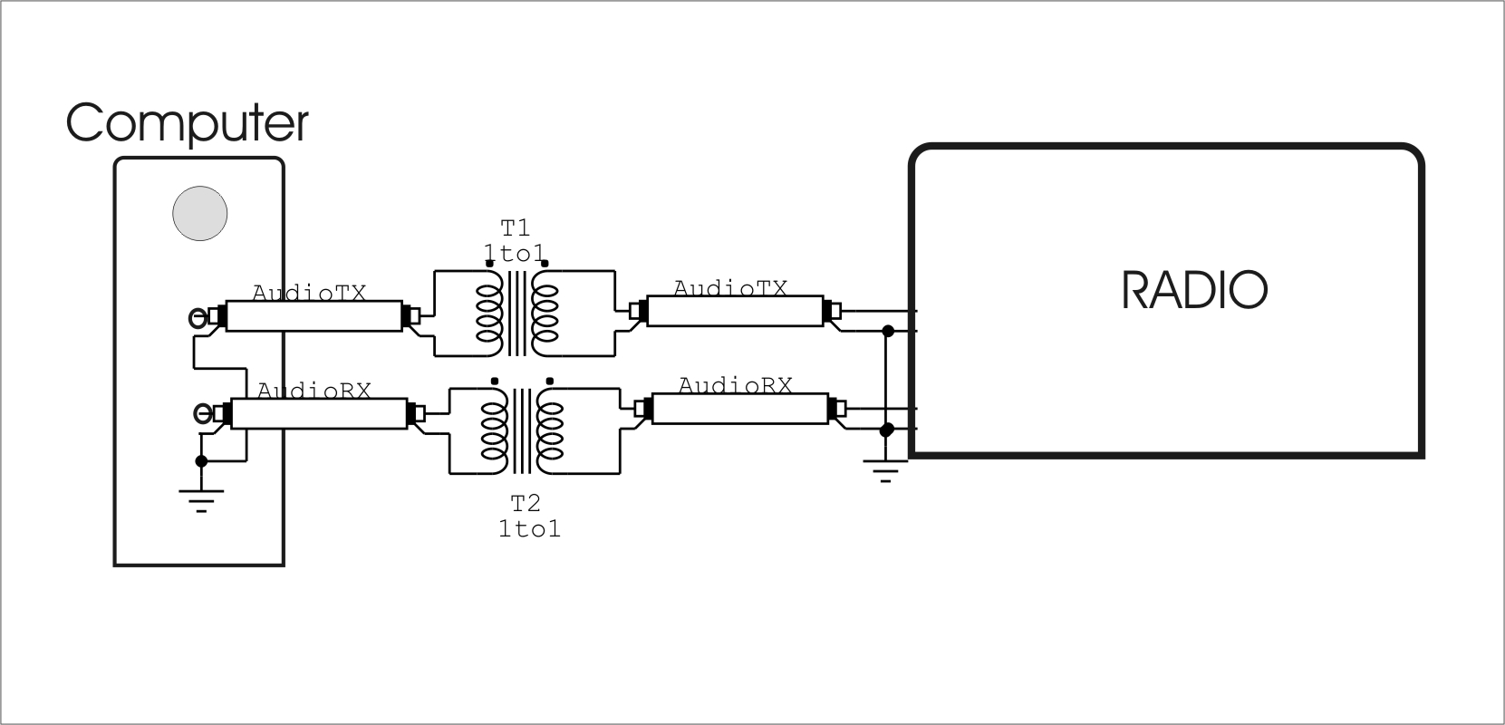 Isolation Transformer Wiring Diagram Library Isolationtransformerwiring Computer To Radio