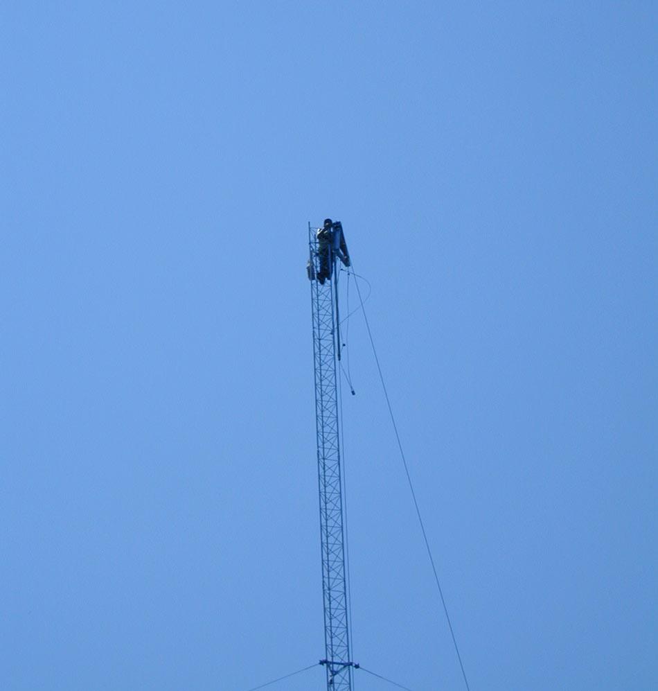 Lifting Rohn 45G 25G tower